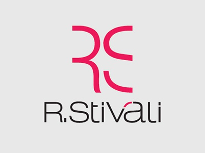 Logotipo R. Stivali design gráfico branding logotipo