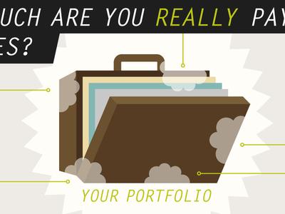 Portfolio Fees Infographic