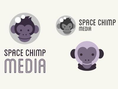 Space Chimp Logo Revamp