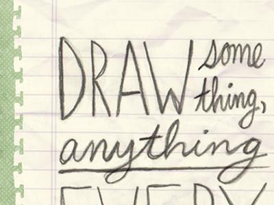 Resolve to Draw