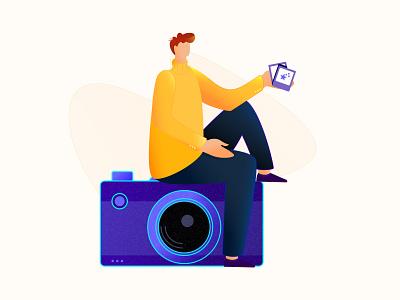 photography Illustration. photography illustration photography illustration ui design landing page agency landingpage web ui ui resource uihut landing page resource free ui resource branding agency