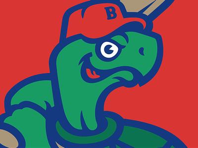 Turtle detail turtle sports baseball