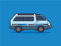 Toyota Master Ace Surf 4WD