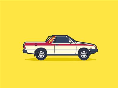 Subaru BRAT car brat subaru