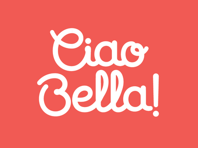 Ciao Bella custom script custom type rounded script