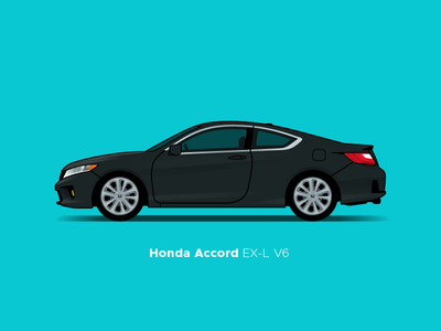 Honda Accord accord honda illustration car
