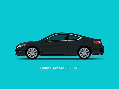 Honda Accord accord honda illustration car