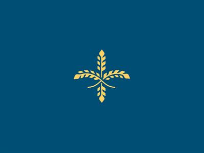 Fleur-de-wheat fleur de lis
