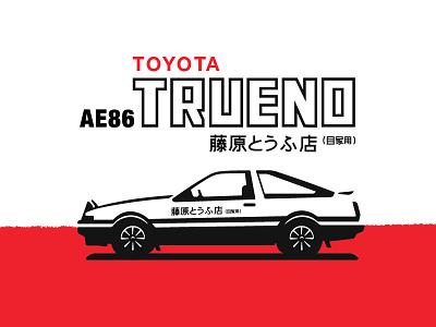AE86 TRUENO