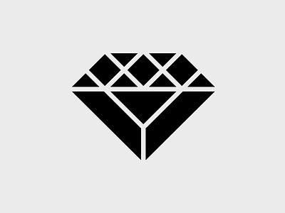 Black Diamond diamond black triangles geometry 2d meticulous esquinca grid process