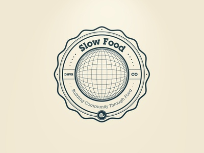Slow Food Denver Badge