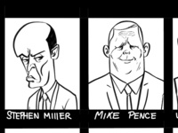 Trumps Rogues Gallery