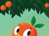 The Orange Bird progress