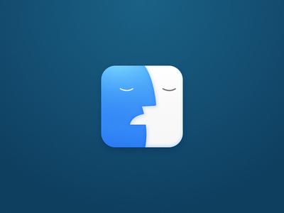 Finder has stopped working ui daily modern osx app icon mac finder