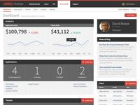 Web App Developer Dashboard