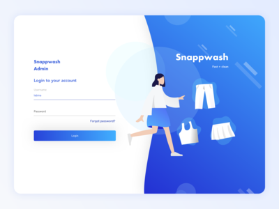 Snappwash Laundry - Web Admin