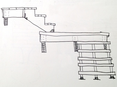Stairs Sketch sketch home improvement stairs construction