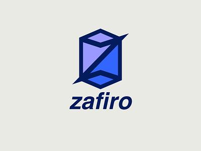 Zafiro blue design rica costa sapphire zafiro brand girl young clothing logo