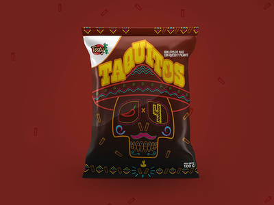 Taquitos Tosty® concurso contest picante chile costa rica food ships packaging snacks hot chilli taquitos