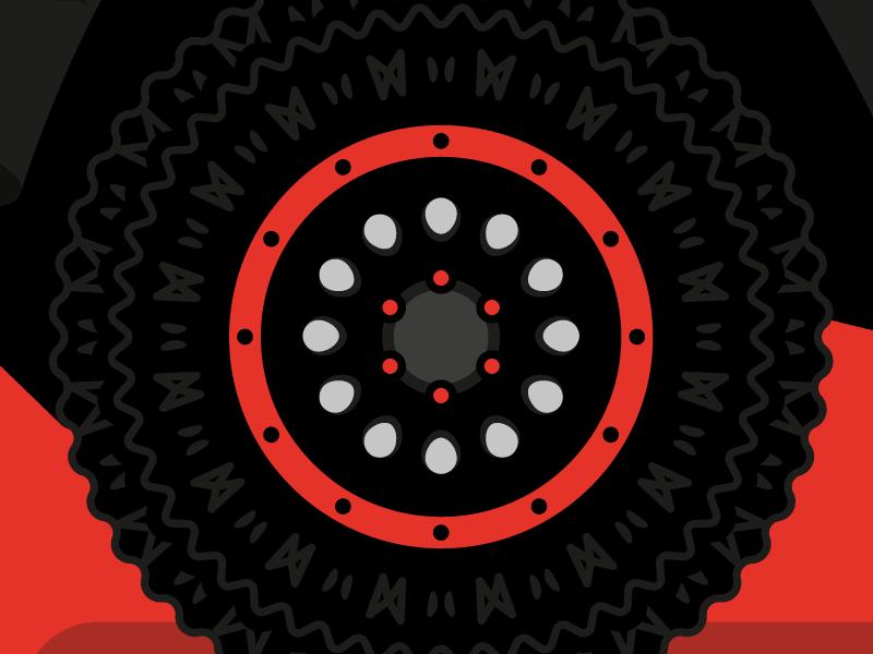 Montero 87 tire