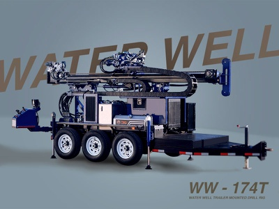 Water Well Drill Rig drill rig water well email photoshop towing trailer drilling