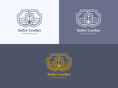 Sailor Leather Logo (wip)