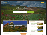 Honeybee Farmer Directory Landing Page