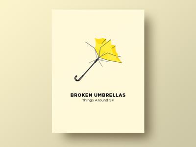 ☂️ Broken Umbrellas