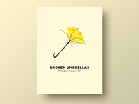 ☂️ Broken Umbrellas