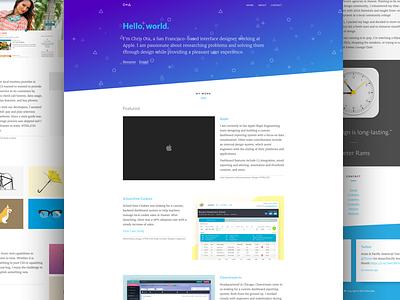 Portfolio Redesign website redesign reboot portfolio mockup may1reboot