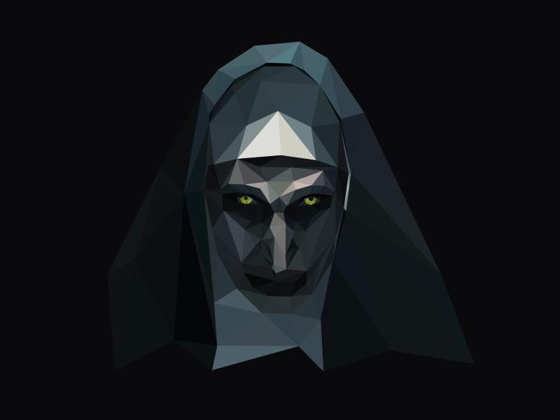 Nun dribbble
