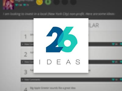 26 Ideas