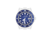 Pure HTML/CSS Rolex Oyster Perpetual Submariner codepen calendar date luxury jewelry silver blue time watch clock html css illustration rolex