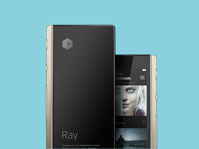 Ray Logo rejected hexagon logo remote ray
