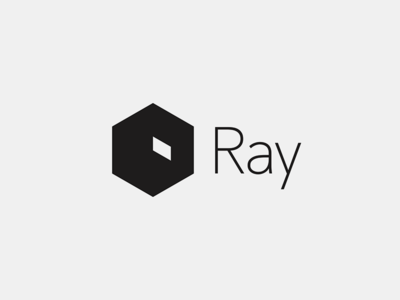 Ray Super Remote startup isometric room logo ray