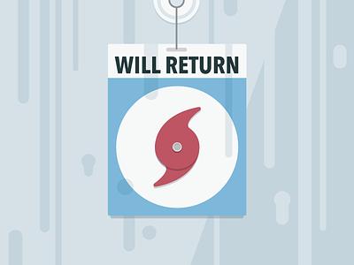 Will Return...After Hurricane hurricane nyc window time rain storm frankenstorm