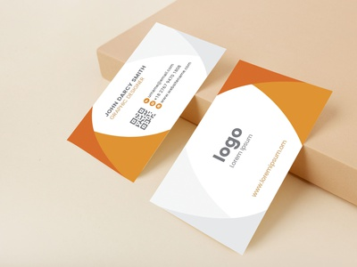 Business Card logo illustrator minimal typography illustration branding