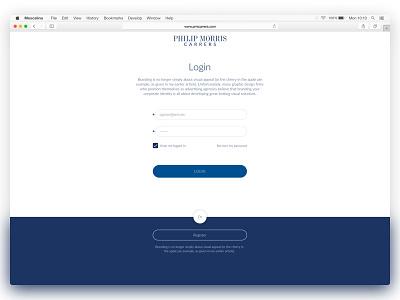 Login App login phillipmorris