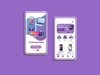 online gadget purchase app ui gadget app app ux design ui