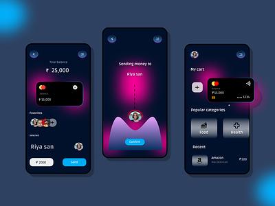 Banking app app design uiux