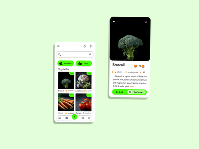 Grocery app grocery app design app ux ui