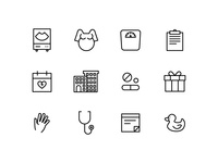 Maven Clinic icons