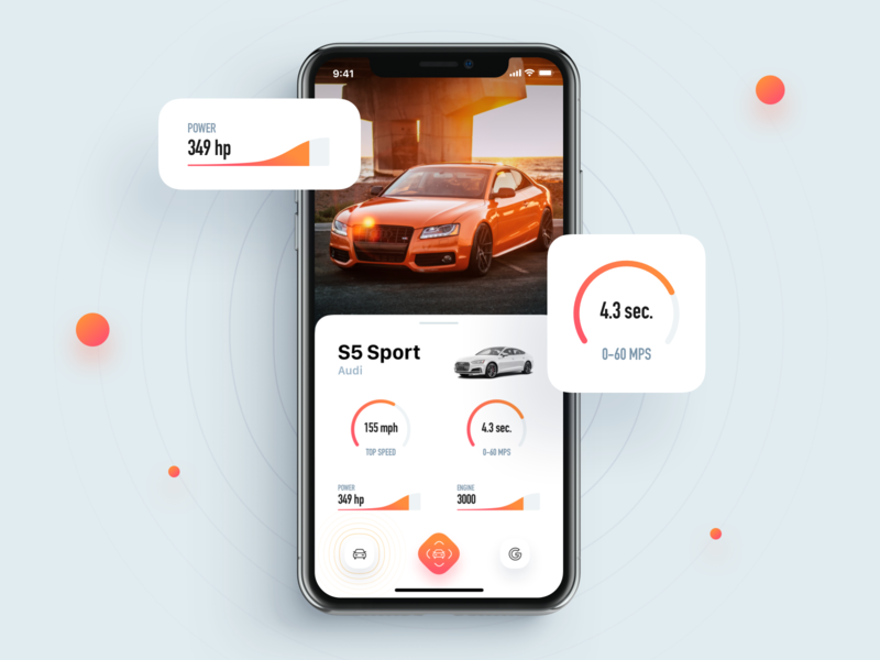 CarLens – Car Recognized 🚗 dashboard recognition ar design app android ios ux mobile interaction ui