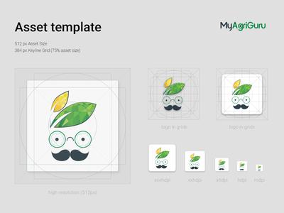 MyAgriGuru - Andorid Icon Asset Guide