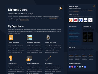 Website UI Design - DograsWeblog