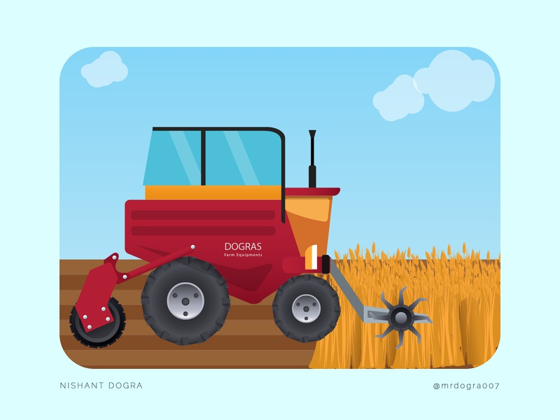 Dogras Farm Equipments - Tractor & Farming machineries dograsweblog creativity vector art illustration machinery farming equipments tractor equipments field tractor farming agriculture