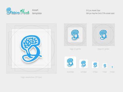 Brain Mint - Icons Asset