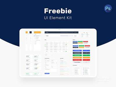 Freebie UI Elements Kit dograsweblog ui kit template free psd