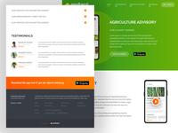 AmdaniBadhao Website UI - MyAgriGuru