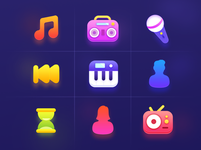 Icons package design nice colors colors colorful iphone icon desigjn flat icon flat icon ios icon iphone icon illustration vibrant editing photo mask photoshop illustrator ui design logo